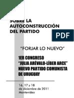 Sobre la Autoconstrucción del Partido
