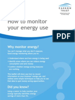 How to Monitor Your Energy Use GIL157