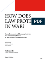How does law protect in war? Volume III