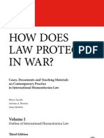 How does law protect in war? Volume I