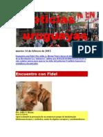Noticias Uruguayas sábado 11 de Febrero de 2012