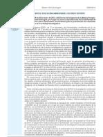 Resolución convocatoria investigación 2012