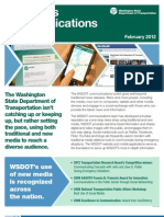 WSDOT Communications Toolkit