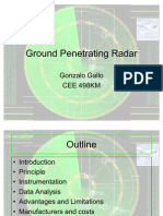Ground Penetrating Radar Gonzolo Gallo