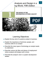 Chapter1 the World of the Information Systems Analyst