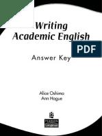 Answer Key W