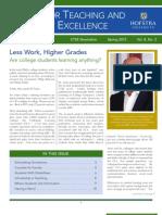 CTSE Newsletter Spring 12
