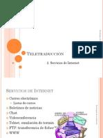 03 2 Teletraduccion-Servicios de Internet