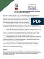 COSO Release Risk Appetite Paper Jan 2012
