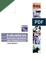 Indicadores sociodemograficos