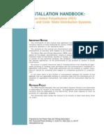 PEX Installation Handbook 2006
