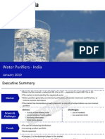 Water Purifier Market in India 2010-Sample