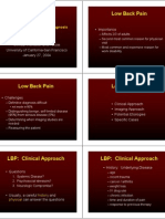 Back Pain Overview