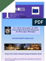 ICLABES. Primera Conferencia Latinoamericana sobre el abandono en la educación superior