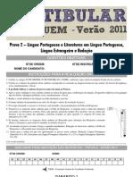 Prova 2 - Redação, Língua Portuguesa, Literatura e Língua Estrangeira (Gabarito 1)