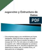 Algoritmo y Estructura de Datos