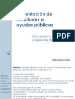 Presentación preparacion proyectos I+D