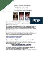 Protectia Sanatatii Utilizatorilor de Internet