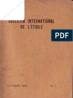 Bulletin International de L'Étoile N°1 Octobre 1929 par J. Krishnamurti