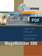 MegaMatcher SDK Brochure 2011-03-08