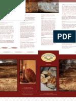 Kens Artisan Bakery Brochure