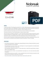 Catalogo de Nobreak SMS Sinus Double II HP High Performance 2,2 e 3,2 kVA (20801 110417) (3)