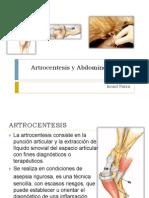 Artrocentesis y Abdominocentesis