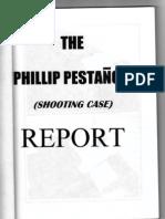 Ens Phillip Pestano Shooting Case Report by Dean Artemio Panganiban Jr and Erdulfo Grimares