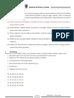 Concurso Prático 2011 Prova Escrita VERDE Gabarito Definitivo