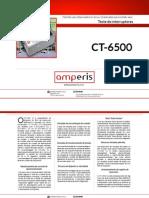 Teste Interruptores Amperis CT 6500 PT