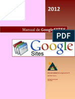 Manual de Google Sites