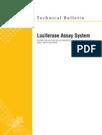 Luciferase Assay System Protocol