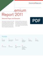 2011 Duff Phelps Risk Premium Report EXCERPT