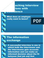 Approaching Interview Questions With Confidence