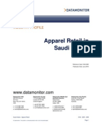 Apparel Retail in Saudi Arabia