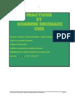 Dossier Fractions & décimauxCM2