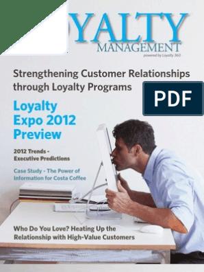 Loyalty Management 1st Quarter 2012 Issue   Customer