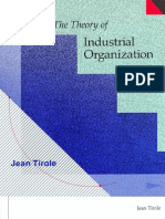 Economy - The Theory of Industrial Organization - j Tirole