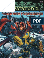 Infestation 2 Transformers #2 Preview