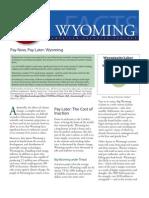 PNPL 2011 Wyoming
