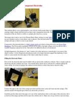 Kirlian Photos Using Transparent Electrodes