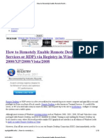 (How to Remotely Enable Remote Desktop (Terminal Services or RDP) via Registry in Windows 2000_XP_2000_Vista_2008 » My Digital L)