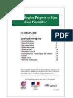 Technologies Propres Et Eau