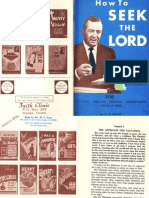How to Seek the LORD by W. V. Grant, Sr.