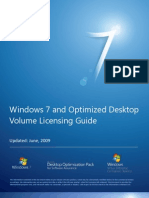Windows 7 and Optimized Desktop Volume Licensing Guide