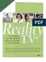 Het Leven Na Deelname Aan Reality TV