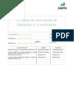 P-04 Proceso de actividades de Validación-Verificación