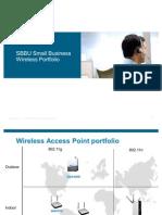 Small Business Wireless Portfolio