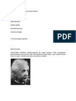 Grandes Personajes de la Física Clásica