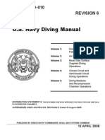 US Navy Diving Manual Revision 6 PDF